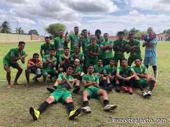 A equipe do Chapadinha Futebol Clube fecha a primeira fase do Campeonato Maranhense Sub 20 em primeiro na classificação de seu grupo. - Esporte Ajax Tocantinense