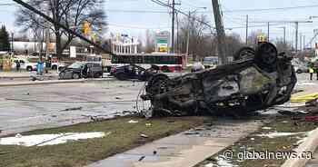 6 injured after multi-vehicle crash in north-end Toronto, police watchdog investigating