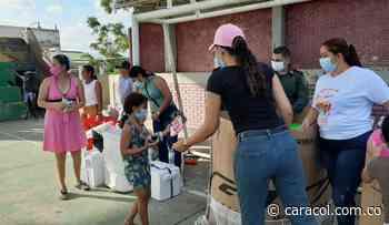 Niños de Simití – Bolívar recibieron 600 regalos de navidad - Caracol Radio