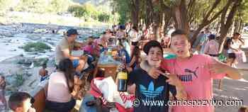 Playas de Oro liberada: Al río sin protocolos ni distanciamientos - Carlos Paz Vivo!