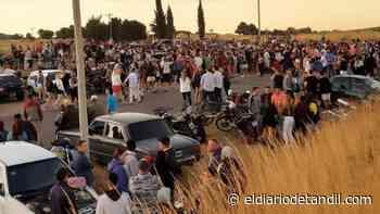 Mucha gente en Montecristo y otra fiesta clausurada - El diario de Tandil