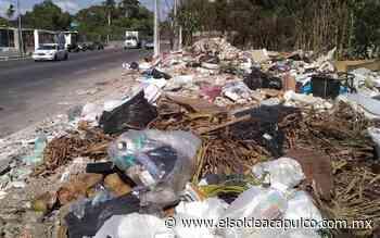 Proliferan tiraderos en el tramo Llano Largo-Colosio - El Sol de Acapulco