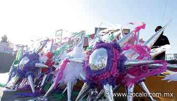 Pandemia vapulea la venta de piñatas en Ramos - Periódico Zócalo