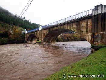 Así 'rugen' los ríos Burbia en Villafranca y Cúa en Cacabelos por la crecida - Infobierzo.com
