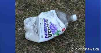 Toronto police issue alert after bottles containing 'combustible' material found in east-end park