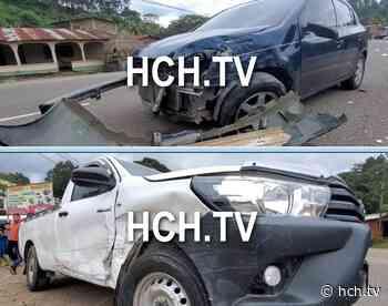Aparatosa colisión en La Guama deja una persona herida - hch.tv