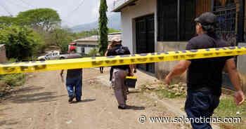 Asesinan a joven en Conchagua, La Unión - Solo Noticias