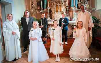 Erstkommunion in Attenhofen - Mit Jesus auf dem Weg zu Gott - idowa