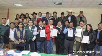 Tacna: Se instaló mesa de diálogo para evaluar problemática hídrica de Candarave | Minagri | lrsd | - LaRepública.pe