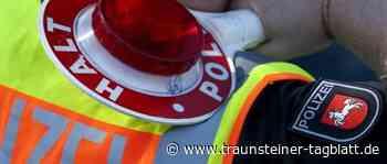 Trostberg: Betrunkener (64) leistet sich Verfolgungsfahrt mit Polizei - Traunsteiner Tagblatt