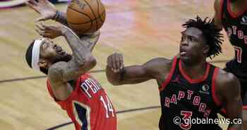 Toronto Raptors fall to 1-4 on the season after loss to Pelicans