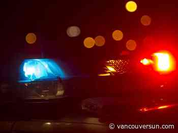 Highway 1 reopened after pedestrian struck by three cars early Sunday morning