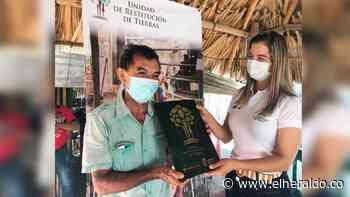 Familias de Morroa reciben sentencia de restitución de tierras - EL HERALDO