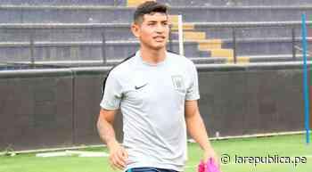 Dylan Caro sobre Alianza: Tengo experiencia jugando en Segunda con Unión Huaral - LaRepública.pe