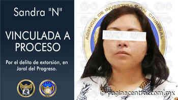 Detienen a extorsionadora en Jaral del Progreso; la vinculan a proceso - Página Central
