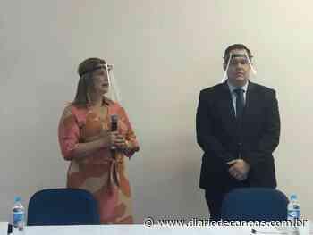 Fatima Daudt é empossada para mais um mandato à frente da Prefeitura de Novo Hamburgo - Diário de Canoas