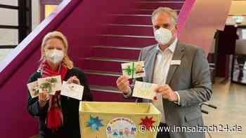 Altötting/Burghausen/Garching an der Alz: Schüler basteln Karten zu Weihnachten für Corona-Patienten - innsalzach24.de