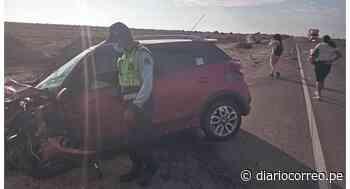 Accidente de tránsito en Mórrope deja a dos personas heridas - Diario Correo