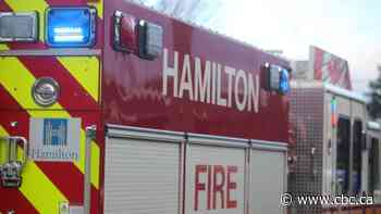 East-end Hamilton house fire sends 1 person to hospital, kills pets