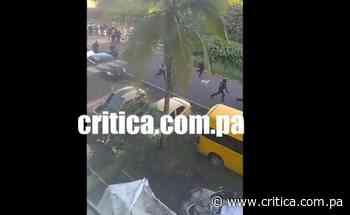 ¡Demencia! Policía y Senan se toman Río Alejandro (Video) - Crítica Panamá