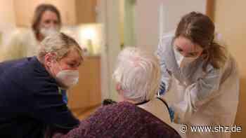 Corona-Pandemie : Impfstart beim Landesverein für Innere Mission in Wahlstedt | shz.de - shz.de