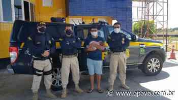 Policiais da PRF resgatam recém-nascido de asfixiamento em Itaitinga - O POVO