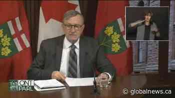 Coronavirus: Three regions account for over half of Ontario's recently reported cases
