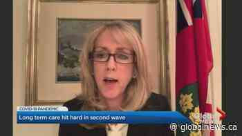 Coronavirus: Global News speaks 1-on-1 with Ontario long-term care minister on outbreaks, deaths at facilities