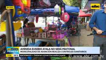 Avda. Eusebio Ayala no será peatonal este año y vendedores tampoco ocuparán el paseo central en vísperas de Reyes - Nacionales - ABC Color