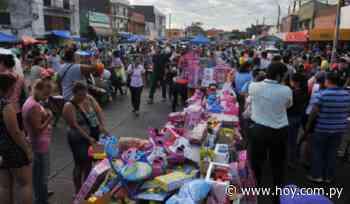 Eusebio Ayala no será peatonal para tradicionales compras del Día de Reyes - Hoy