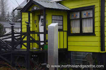 Monolith appears in Vancouver Island yard – North Island Gazette - North Island Gazette
