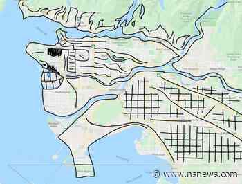 Someone has drawn a hilarious interpretation of a Metro Vancouver map - North Shore News