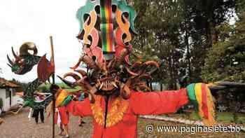Los diablos de Píllaro bailan en vivo y desafían la pandemia - Diario Pagina Siete
