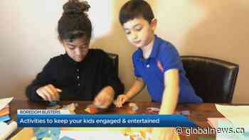 Activities to keep your kids engaged and entertained at home