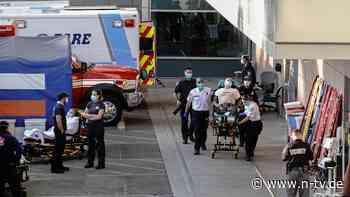 Stundenlange Staus an Kliniken: US-Krankenwagen lassen Sterbende zurück