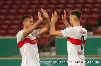 Einzelkritik zum VfB Stuttgart - Waldemar Anton und Orel Mangala führen den VfB in die nächste Runde - Stuttgarter Nachrichten