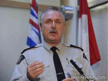 Former B.C. RCMP spokesperson Sgt. Peter Thiessen dies