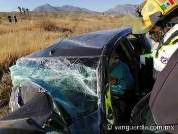 Hombre queda prensado tras accidente en Ramos Arizpe - Vanguardia MX