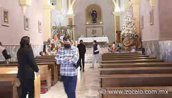 Acuden a misa presencia; atienden restricciones [Ramos Arizpe] - 04/01/2021 - Periódico Zócalo