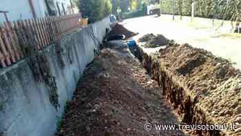 Posa di nuova condotta di acquedotto: a Crocetta del Montello partono i lavori - TrevisoToday