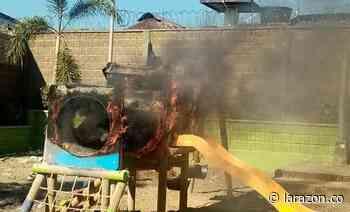 Jóvenes habrían incendiado parque infantil en La Apartada - LA RAZÓN.CO