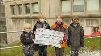4 boys on a mission to raise $5K for charity surpass their goal, raise $17K
