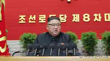 Neuer Fünf-Jahres-Plan erwartet: Kim räumt auf Parteitag Fehler ein