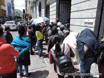 En Ambato y Machala se registraron aglomeraciones por pago de impuestos prediales - El Universo