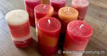 Basteltipp: Aus Wachsresten neue Kerzen giessen - BauernZeitung