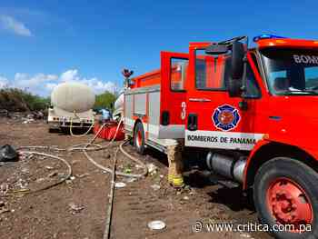 Bomberos avanzan en control de incendio en vertedero de Guararé - Crítica Panamá