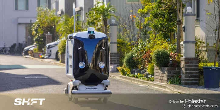 Panasonic is testing Japan's reaction to its first delivery robots