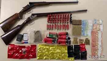 Seine-et-Marne. Deux dealers présumés interpellés à Savigny-le-Temple : saisie d'armes et des munitions - actu.fr