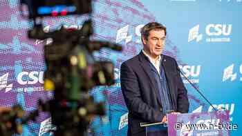 Kanzlerkandidatur der Union: Söder stellt Vorrecht des CDU-Chefs infrage
