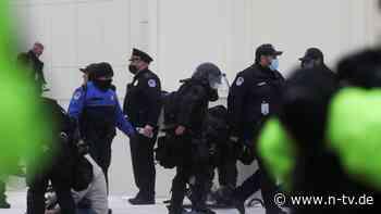 Gewaltsame Proteste: Trump-Anhänger stürmen Kapitol in Washington
